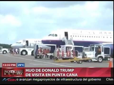 Eric Fredrick, hijo de Donald Trump llega al país