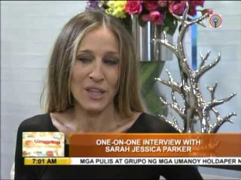 Sarah Jessica Parker wishes to stay longer in PH