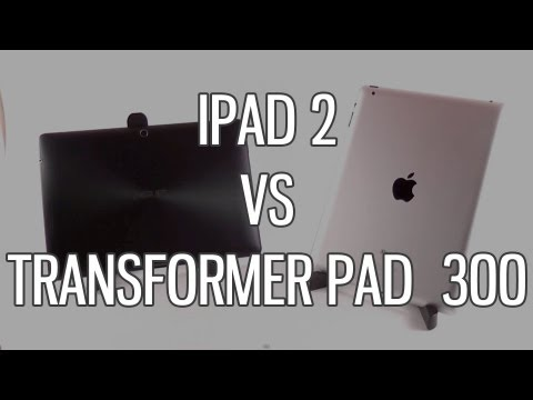 Asus Transformer Pad TF300 vs Apple iPad 2 comparison