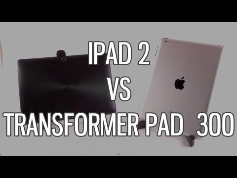 Asus Transformer Pad TF300 vs Apple iPad 2 comparison