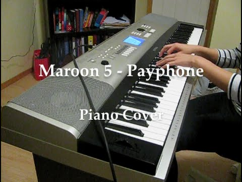 Maroon 5 - Payphone ft. Wiz Khalifa (HQ piano cover)