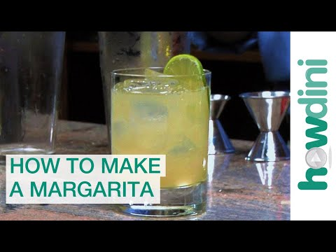 How to make a margarita cocktail - Margarita recipe