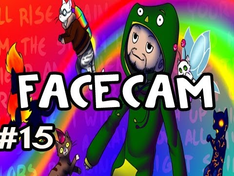 Techno Kitten Adventure FACECAM: Indie Game w/Nova #15 - EATING SUN CHIPS