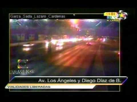 NarcoBloqueos [15/08/10] (Luis Carlos Treviño Berchelmann SSP) En Monterrey, Nuevo Leon MULTIMEDIOS