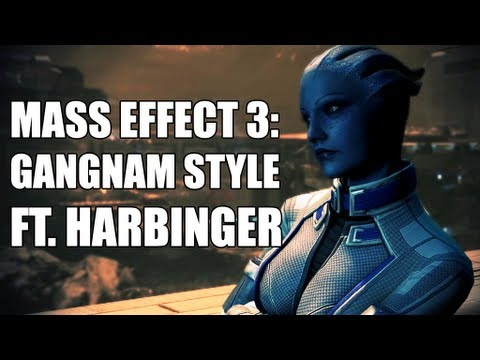 "Mass Effect 3: ""Assuming Control""  PSY - GANGNAM STYLE (ft. Harbinger) M/V [HD]"