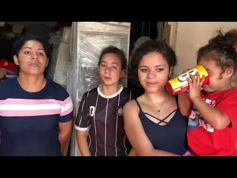 Agradecimento da Comunidade de Oratório/Mauá ao Sindicato pela distribuição de cestas básicas