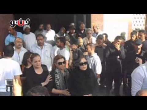 شاهد فيديو دموع النجوم في جنازة فايزة كمال