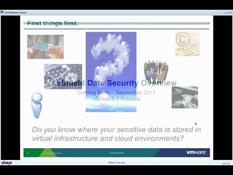 Cloud Computing Security - VMWare vSheild 5.0