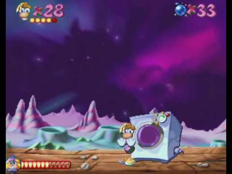 Rayman [Sega Saturn] - Space Mama's Crater (2/2)