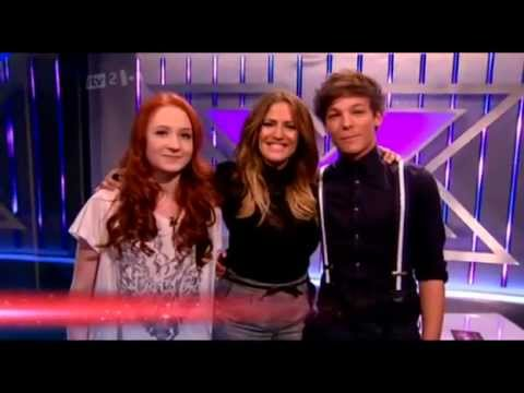 Janet Devlin on xtra factor saying goodbye X Factor UK 2011