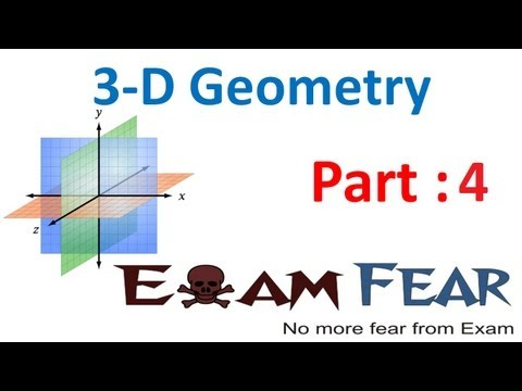 Maths 3 Dimensional Geometry part 4 (Example: Direction cosine, ratio) CBSE class 12 Mathematics XII