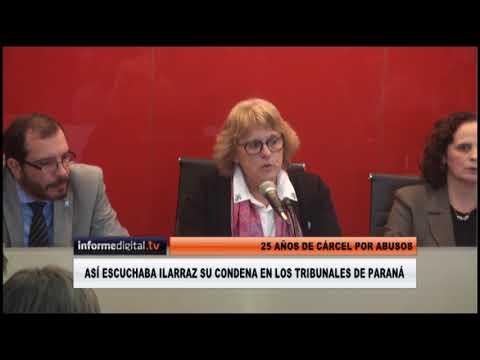 <b>Fallo histórico.</b> Así escuchó Ilarraz su condena a 25 años de cárcel
