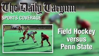 Field Hockey Vs Penn State (10/21/16)