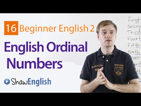 How to Express English Ordinal Numbers