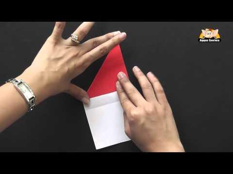 Origami in Marathi - Make an Arrow Bookmark