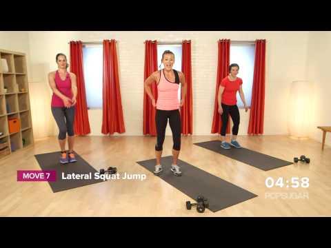 10-Minute Bikini Workout | Lower Body and Cardio Fitness | Class FitSugar