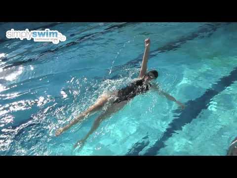 Backstroke Drills - Swimming Advice from Simply Swim
