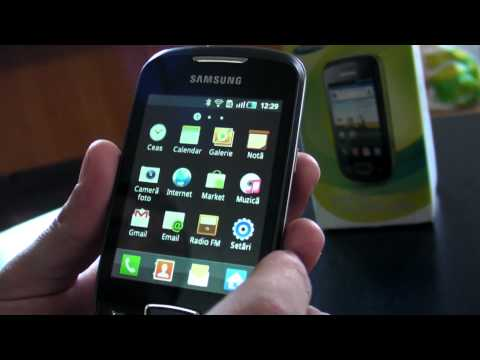 Samsung Galaxy Mini S5570 review HD ( in Romana )