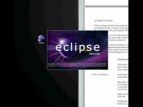 Eclipse Tutorial Part I: Installing Eclipse