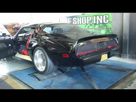 Hell-s TA - 80 Trans Am SE LS9 Super Charged ProTouring - Dyno Session