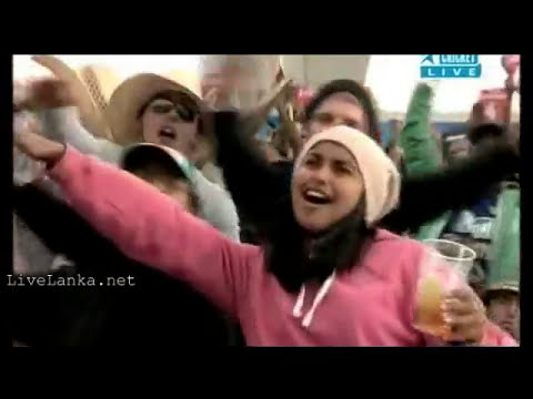 Dile Ape Tharu Official 2011 Cricket World Cup theme Song - De Ghuma Ke - Sinhala Version