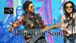 Run Run Song With lyrics - Iddarammayilatho