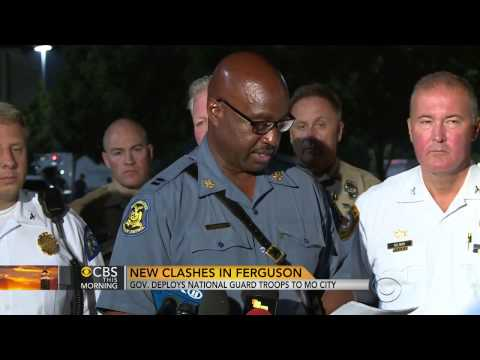Missouri governor sends National Guard to   (Ferguson)   8/18/14
