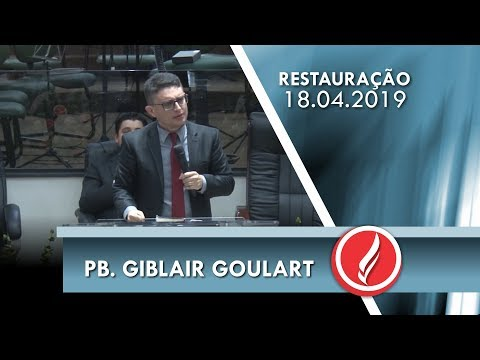 Pb. Giblair Goulart | Deus é contigo | Jr 18.1-6 | 18 04 2019