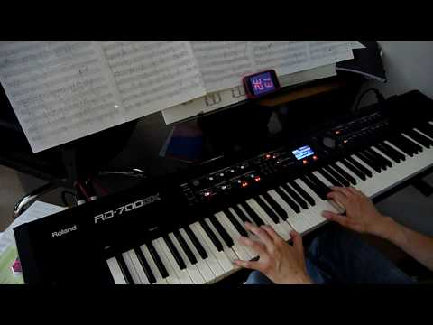 Iron Maiden - Fear Of The Dark - piano cover [HD]
