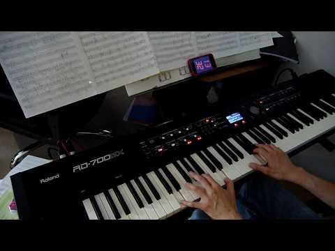 Iron Maiden - Fear Of The Dark - piano cover [HD]