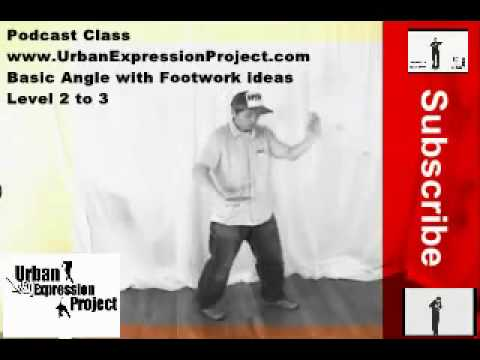Basic Arm & Legs Angle Popping Class (Repost from UrbanExpressionproject.com)
