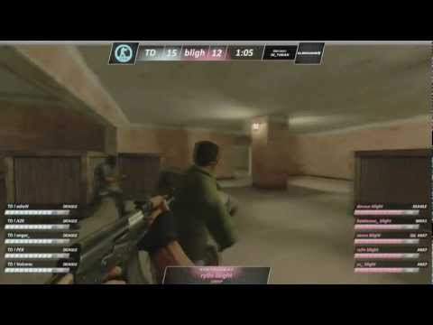 CS: Source $10,000 Grand Finals: Dynamic vs Zomblerz on de_tuscan @ ESEA LAN 10 (PART 3/3)