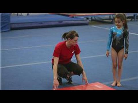Intro to Gymnastics : Cartwheel Exercises for Preschool Gymnastics