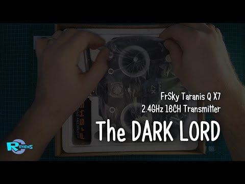 FrSky Taranis QX7 black - Dark LORD and colors - UCv2D074JIyQEXdjK17SmREQ