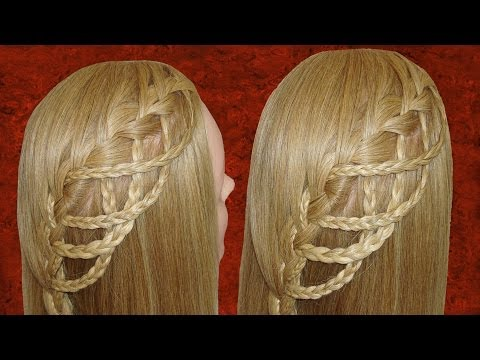 WATERFALL BRAID | TRENZAS EN CASCADA | VIRIYUEMOON
