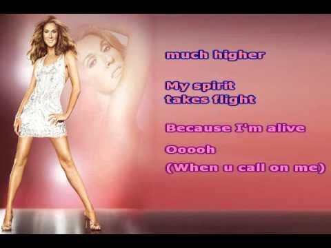 Alive ~ Celine Dion ~ Karaoke