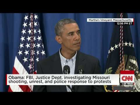 Obama: Law Enforcement Should Not Arrest You For (Protest) Its Your Right