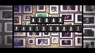 An exclusive behind the scenes look at the Azhar Photoshoot