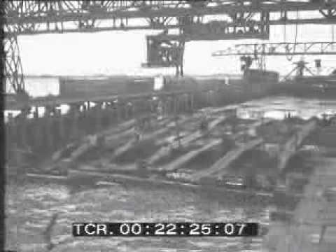 1931. Lavori del nuovo ponte auto-strada di 4 km
