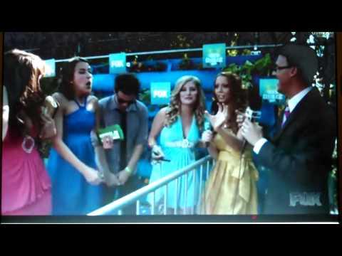 Alli & Charles Trippy CTFxC , Ijustine on TEEN CHOICE AWARDS 2010 TCA