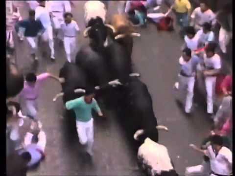 Encierro de San Fermín   14 de julio de 1989 480p