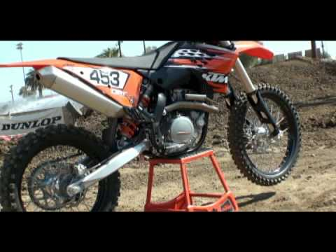 2010 KTM 450 SX-F First Impression Video