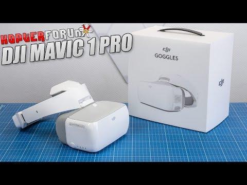 DJI Mavic #51 - DJI Goggles Unboxing & Setup [german/deutsch] - UCfV5mhM2jKIUGaz1HQqwx7A