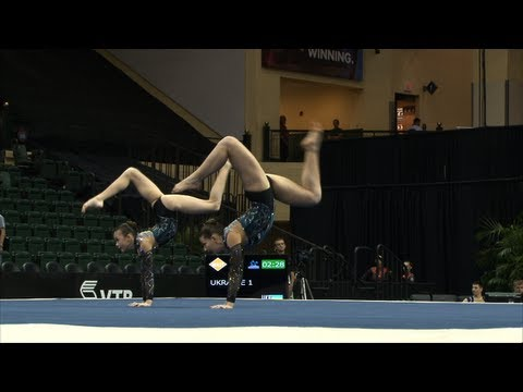 WC Orlando (USA) 2012 -- Russia, Women's Pair