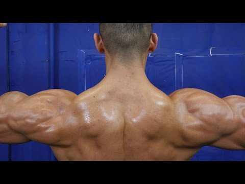Massive Bowling Ball Shoulder Workout