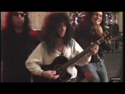 "KISS - Play ""The Beatles"" etc. / Eric Carr on guitar [ HOT IN THE SHADE rehearsals ]"