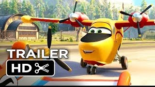 Planes: Fire & Rescue Official Trailer (2014) - Disney Sequel HD
