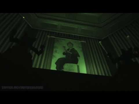 Haunted Mansion Complete Experience (Nightvision HD POV) Magic Kingdom WDW