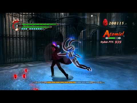 [HD] Devil May Cry 4 Gameplay - Nero vs Bael Dante Must Die Mode