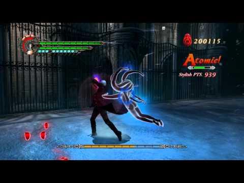 [HD] Devil May Cry 4 Gameplay - Nero vs Bael Dante Must Die Mode